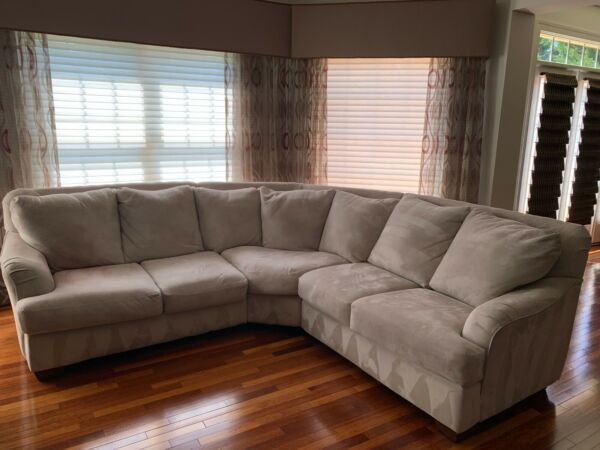 5 seat sectional couch and chaise lounge $360.00
