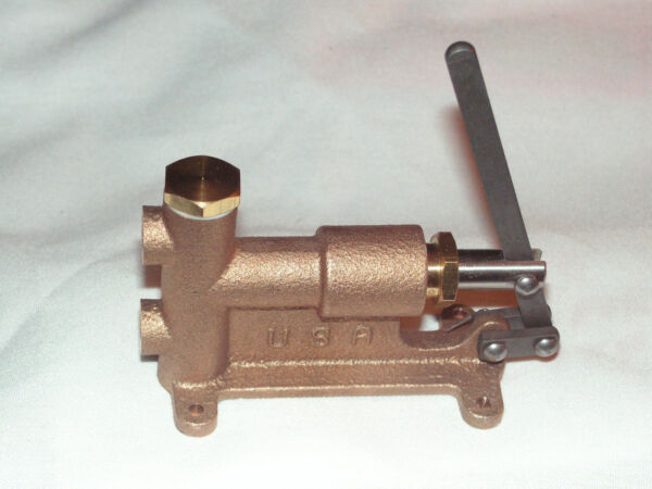 LIVE STEAM MANUALLY OPERATED 5 16 27 BOILER FEED PUMP NEW TRAIN TOOL USA $65.00
