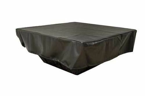 HPC Fire Square Outdoor Fire Pit Vinyl Cover Grey