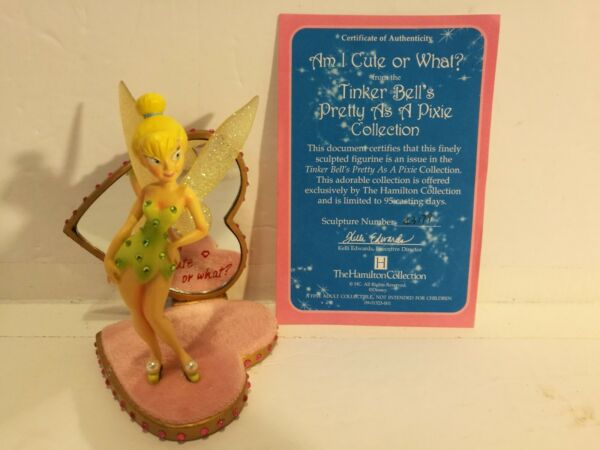 Disney Hamilton Collection Tinker Bell Am I Cute Or What From Pretty As A Pixie $78.99