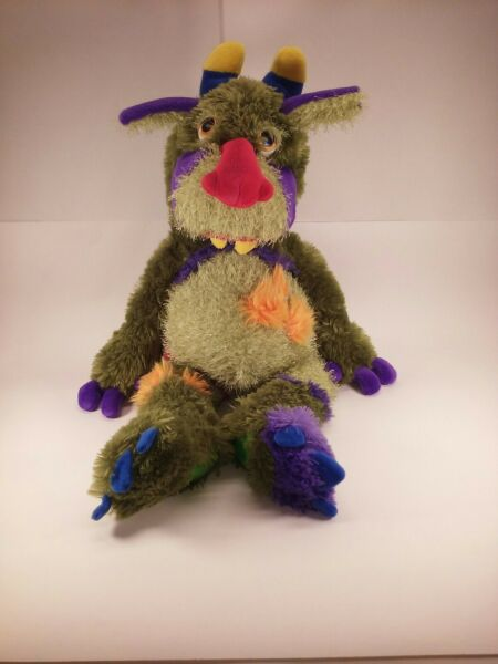 """Manhattan Toy Galoompagalots Mrax Monster Large Red Nose 24"""" Plush Stuffed Toy $55.99"""