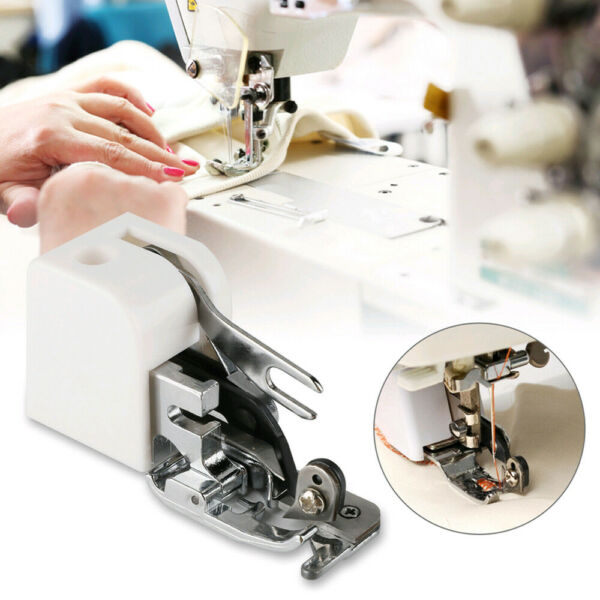 HOT Sewing Machine Side Cutter Overlock Presser Foot For Brother Singer Janome R $10.29