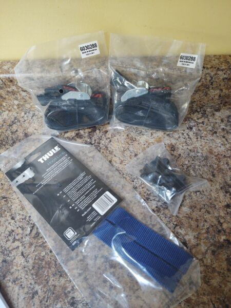 New Yakima Rooftop Kayak Tie Downs Heavy Duty Straps 2 Hood Loop 1 Pads 4 $49.99