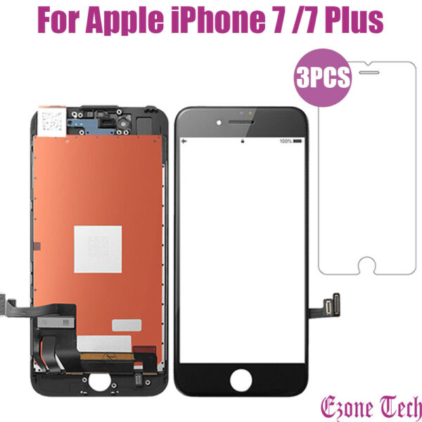 iPhone 7 7Plus LCD Touch Screen Digitizer Replacement Protector Repair Tools