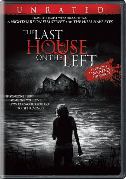 The Last House On the Left DVD Garret Dillahunt NEW