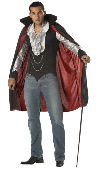 California Costumes Very Cool Vampire Count Dracula Costume XL NEW $27.99