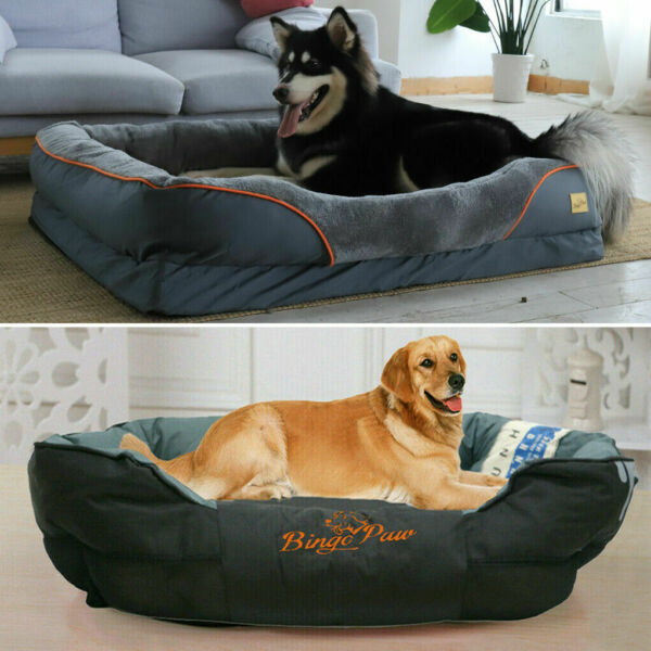 XXXL XL Extra Large Dog Bed Soft Pet Couch Sofa Cushion Warm Basket Waterproof $79.99