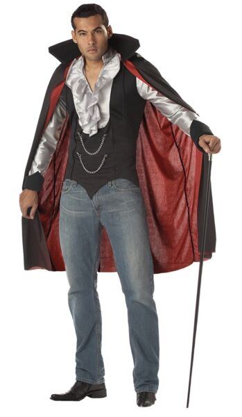 California Costumes Very Cool Vampire Count Dracula Costume Large NEW $27.99
