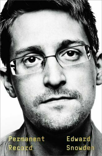 Permanent Record by Edward Snowden Hardcover Book Biography Autobiography