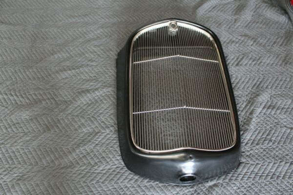 1932 FORD GRILL SHELL amp; INSERT WITH CRANK HOLE