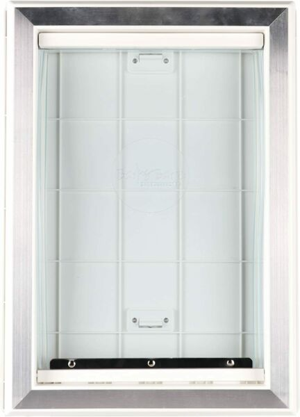 Extreme Weather Pet Door Dog Doors Exterior Cat Entry Large Dogs Heavy Duty M $49.99