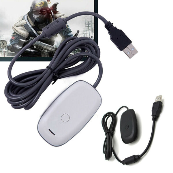 Wireless PC Laptop Controller Gaming USB Receiver Adapter For Microsoft XBOX 360