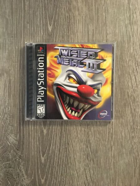 Twisted Metal III Sony PlayStation 1 1998 TESTED COMPLETE
