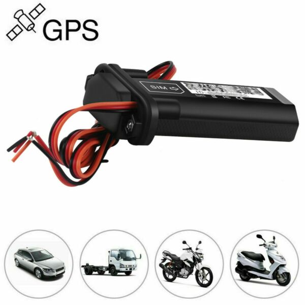 Car Vehicle Motorcycle GSM GPS Tracker Locator Global Real Time Tracking Device $20.73