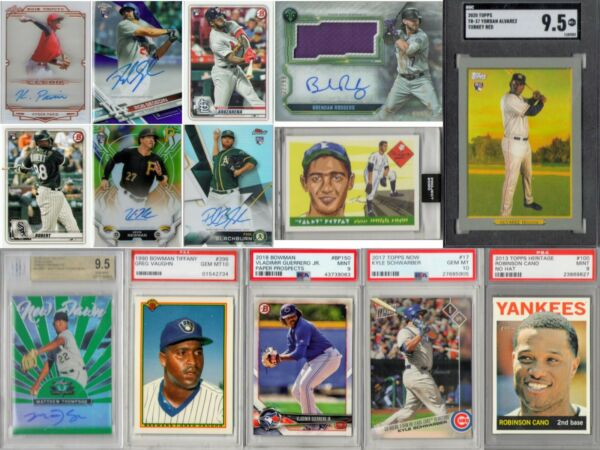 3 2 1 Baseball Mystery Explosion Pack 3 Rookie Year Cards 2 Inserts amp; 1 Slab 321 $34.99