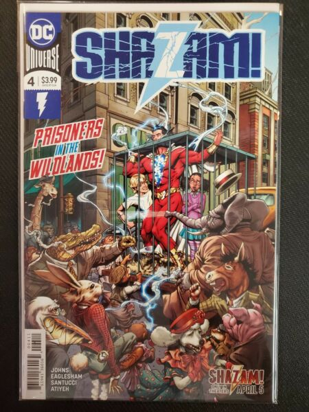 Shazam #4 A Cover DC NM Comics Book