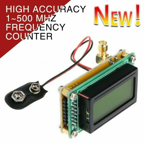 High Accuracy 1 500 MHz Frequency Counter RF Meter Tester Module For ham Radio