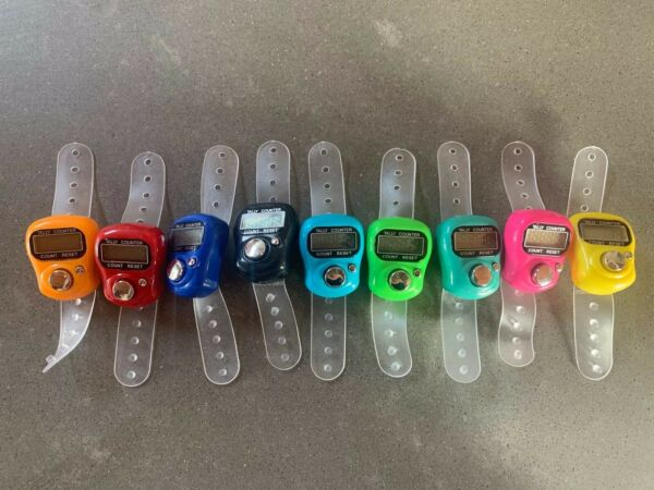 Digital Finger Tally Counter Choose Color
