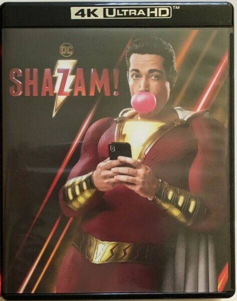 DC SHAZAM 4K ULTRA HD BLU RAY 2 DISC SET FREE WORLD WIDE SHIPPING BUY IT NOW FUN