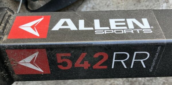 Allen Sports 542 RR receiver hitch 4 bicycle bike carrying rack $75.00