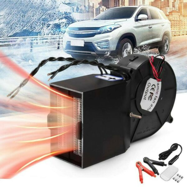 12V Car Auto Electric Heater Heating Cooling Fan Defroster Demister 500W 25A $39.91