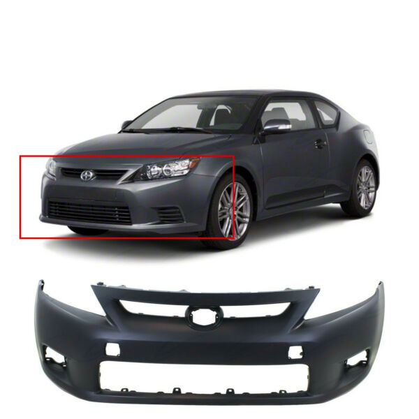 Primed Front Bumper Cover Replacement for 2011 2012 2013 Scion tC 11 12 13 $119.30
