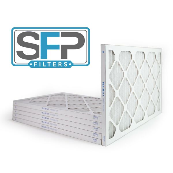 16x25x1 Merv 13 Pleated AC Furnace Filters. pack of 6 Captures airborne virus $37.99