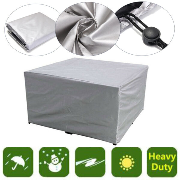 Outdoor Furniture Waterproof Resistant Anti Dust Patio Garden Sofa Couch Cover $22.54
