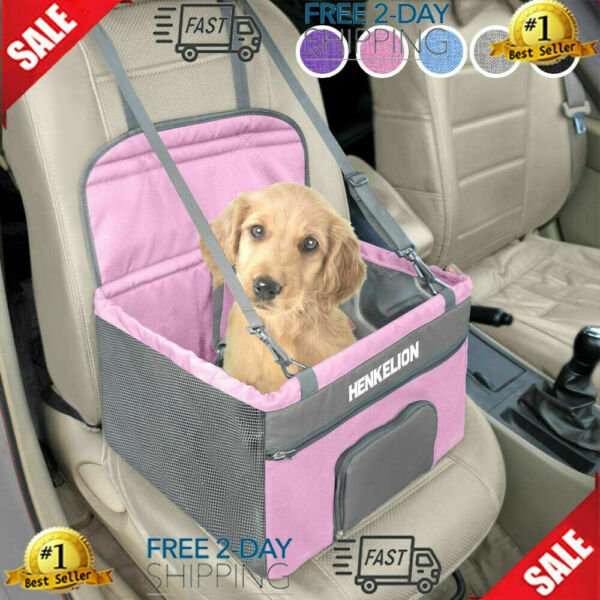 Pet Dog Booster Seat Deluxe Pet Booster Car Seat for Small Dogs Medium $43.99