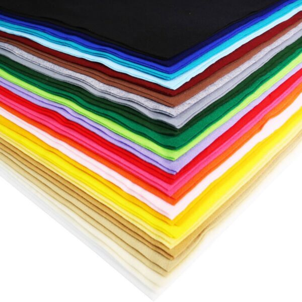 FabricLA Acrylic Felt Fabric by The Yard 72quot; Wide Many Colors Available $12.99