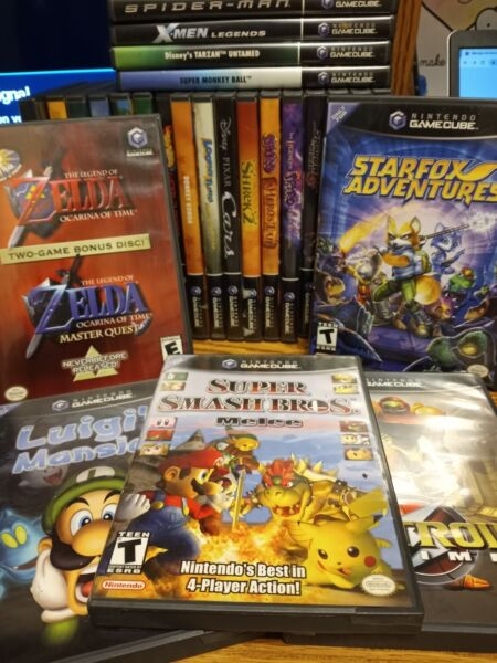 NEW TITLES 1 21* NINTENDO GAMECUBE GAMES LOT YOU PICK YOUR OWN BUNDLE Mario Kart $13.89