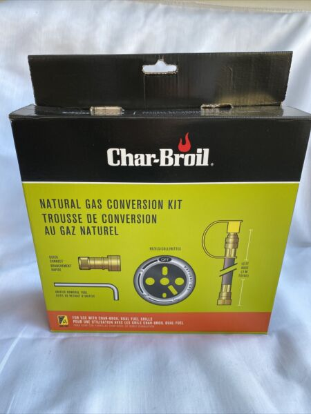 Char Broil Natural Gas Conversion Kit 4619 for use with Dual Fuel Grills $23.95
