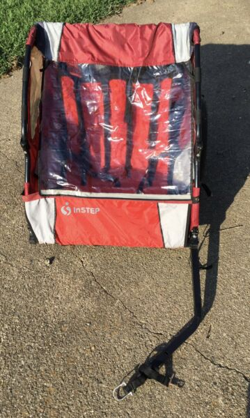 InStep 2 Seater Bike Trailer Red $39.99
