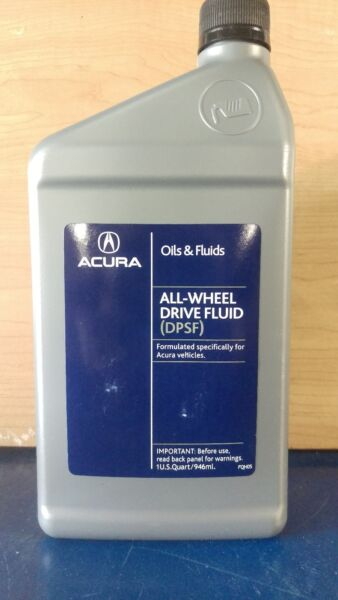 Genuine Acura AWD SHAWD DPSF Rear Differential Fluid 08200 9007A 35 QT. PKG