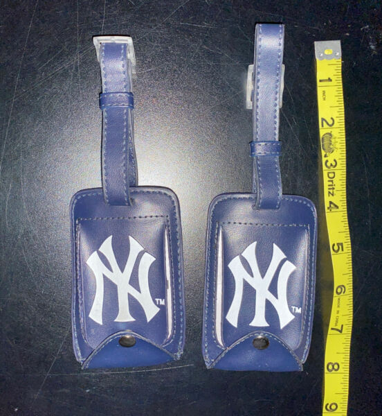 New York Yankees Stadium Give Away Luggage Tag Set 2 Stone Mountain Accessories $30.00