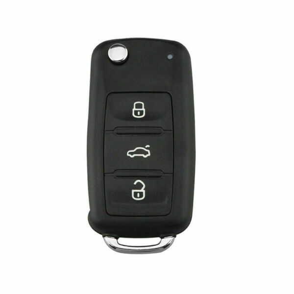 3 Button Remote Key Shell Case blade Fit For Volkswagen Polo Golf Seat Skoda MK6