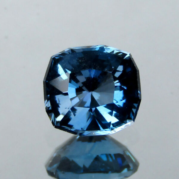 1.09CTS EXCELLENT CUSTOM CUSHION NATURAL LONDON BLUE TOPAZ 6.1x5.7MM LOOSE GEMS $9.99