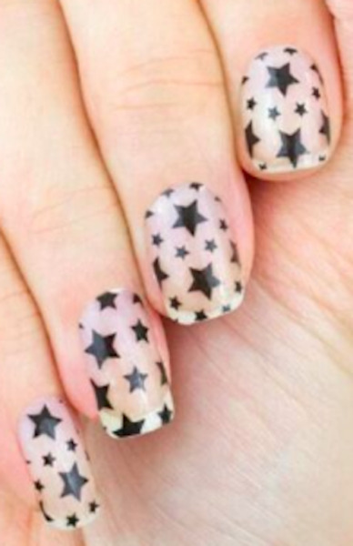 999 Color Street Nail Polish Strips: Star for the course Christmas stars $9.99