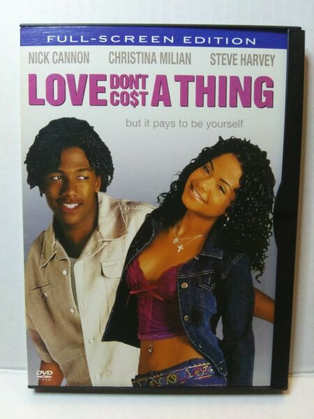 Love Dont Cost a Thing DVD 2004 Full Screen Nick Cannon Snap Case😍 $1.80