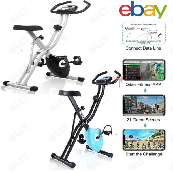 Pro Bicycle Cycling Fitness Gym Exercise Stationary Bike Cardio Workout Indoor $145.99