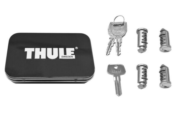 THULE No. 544 One Key 4 pack Lock Locking Cylinders NEW IN BOX $40.00
