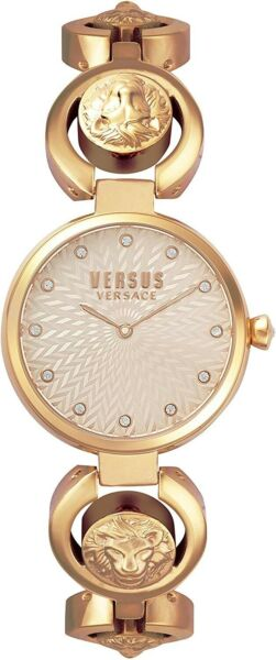 New 32mm Womens Royal Versace Versus Watch Crystal#x27;s Rose Gold