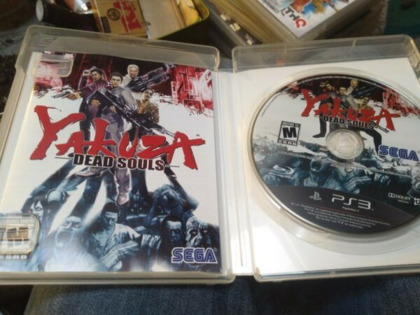 Yakuza Dead Souls Sony Playstation 3 PS3 System Complete ps3 Game $32.98