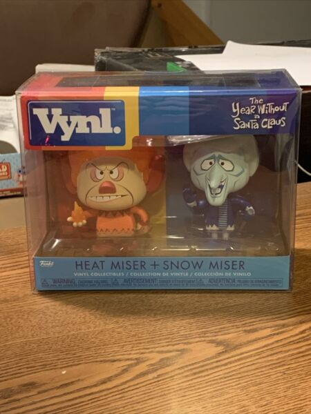 Heat Miser And Snow Miser Funko Vynl Year Without A Santa Clause