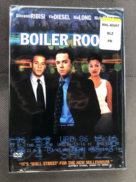 Boiler Room Blu ray Disc 2014 Brand NEW FACTORY SEALED Mint Condition DVD $5.90