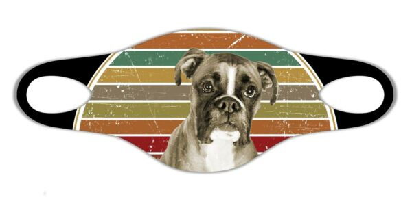 Boxer dog lovers Soft face protective mask easily washed respire airy gift $8.88