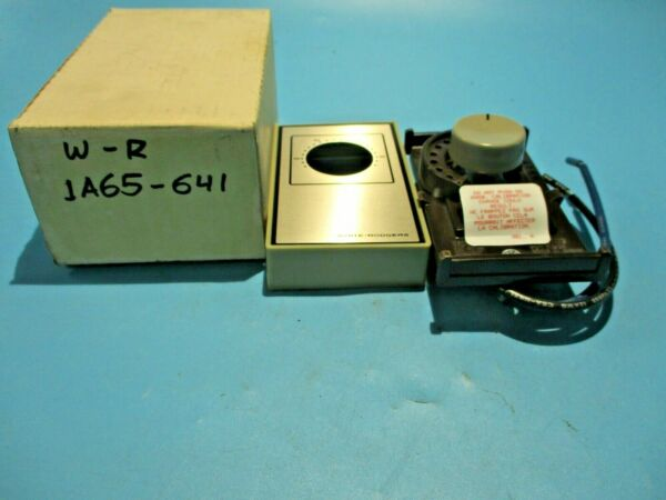 NEW WHITE RODGERS 1A65 641 ELECTRIC HEAT THERMOSTAT $16.85