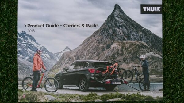 NEW 2018 THULE BIKE CYCLE SKI CANOE SURF SUP CARRIER RACK 104 PAGE CATALOGUE GBP 4.99