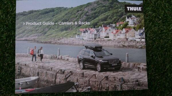 NEW 2017 THULE BIKE CYCLE SKI CANOE SURF SUP CARRIER RACK 114 PAGE CATALOGUE GBP 4.99