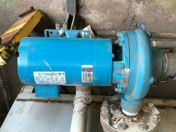 INDUSTRIAL WATER BOILER PUMP 3 HP 240V CAST IRON 2 INCH DISCHARGE 2.5quot; INLET $1275.00
